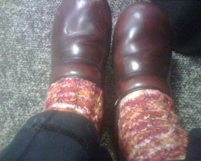 My BMFA Solstice Slip Socks!