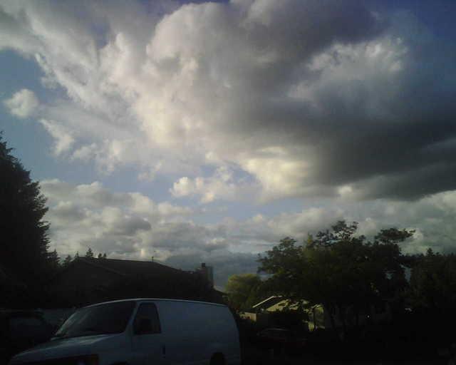 My Saturday sky